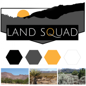 Land Squad Branding elements by Powersful Studios