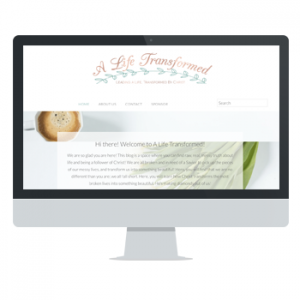 A Life Transformed website by Powersful Studios